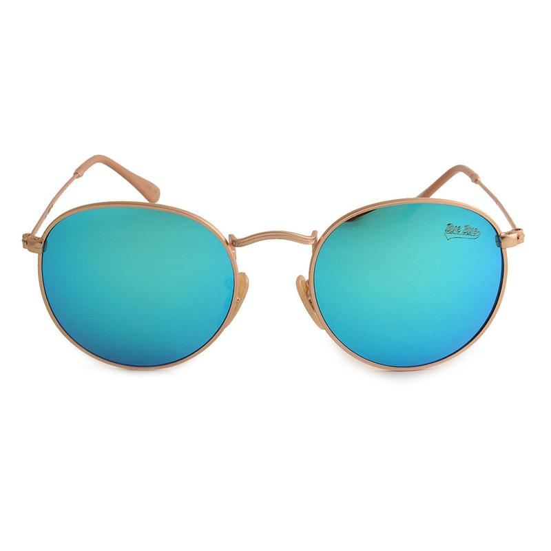 Oculos de sol feminino redondo azul espelhado - R  149.90,  4315 ... d79ad54c74