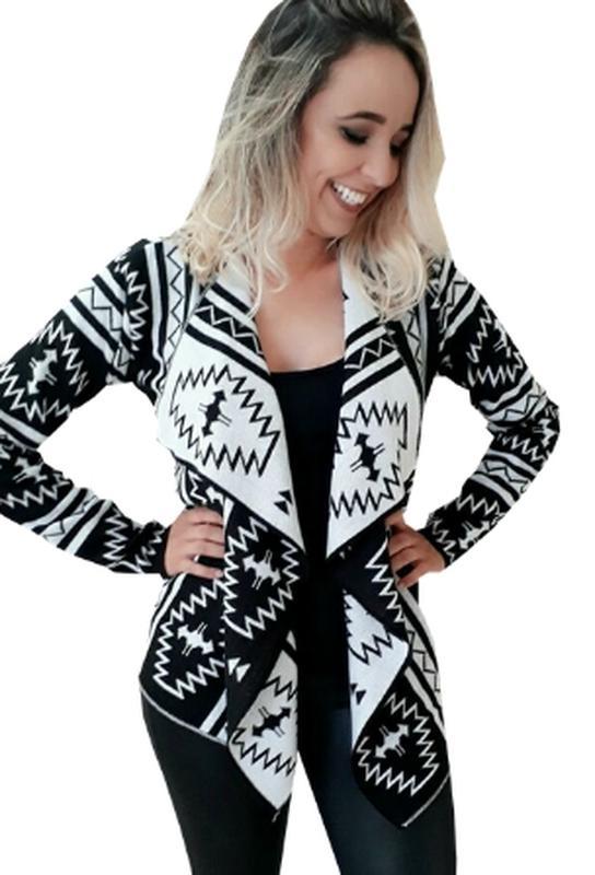 f4975ff34 Kimono de lã trico casaco suéter de frio tricot promoção - R  56.90 ...