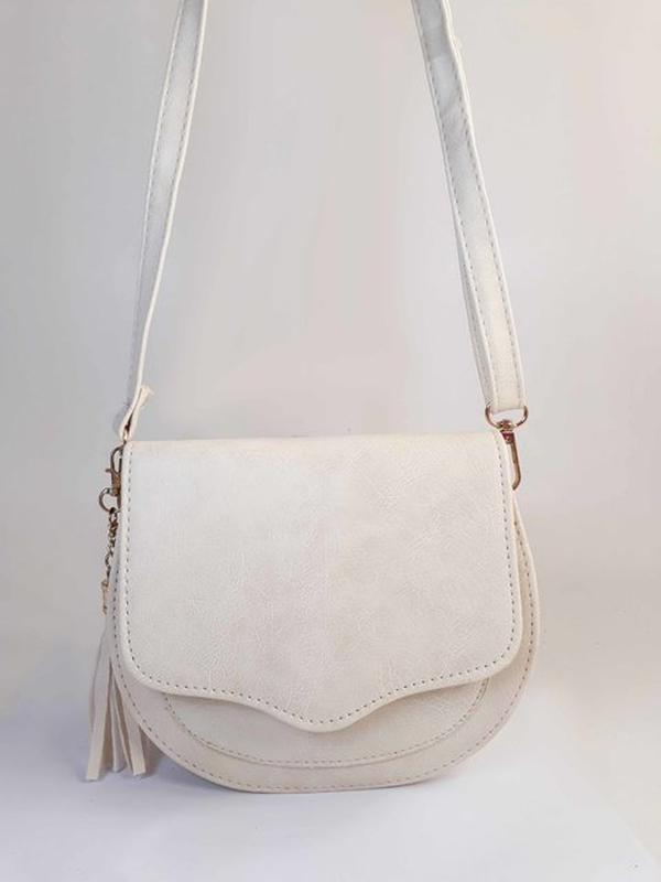 f819be22e0 Bolsa bag michele branca - bolsa feminina pequena
