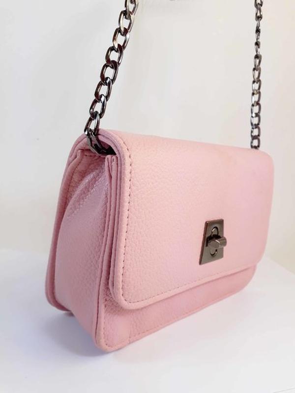 ... Bolsa bag mariana rosa - bolsa feminina de couro ecológico cffc49cb07e