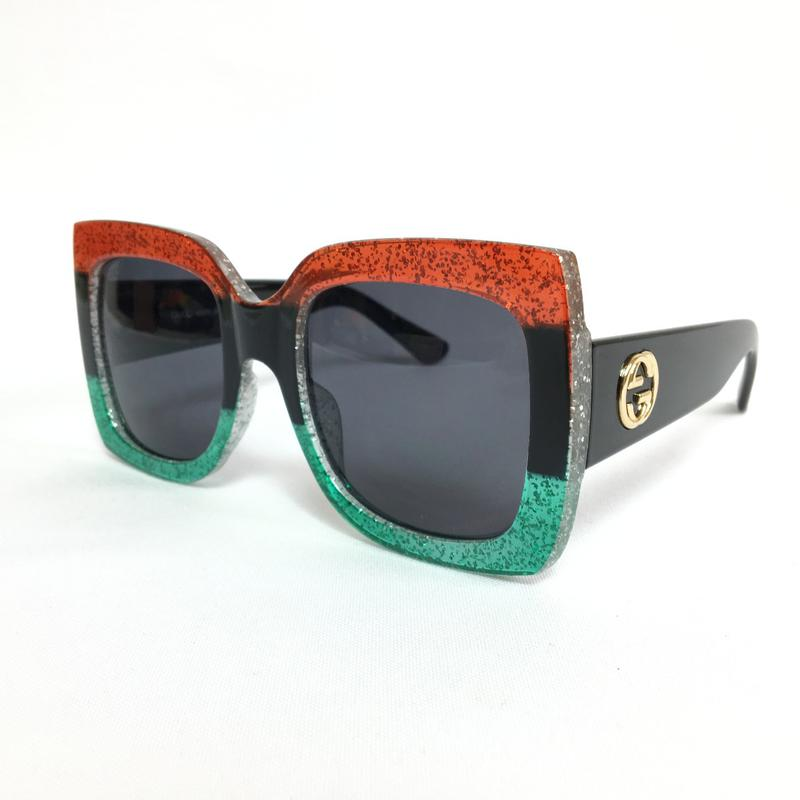 ... Óculos feminino quadrado gcc red black green tendência 20183 ... 470f64685c