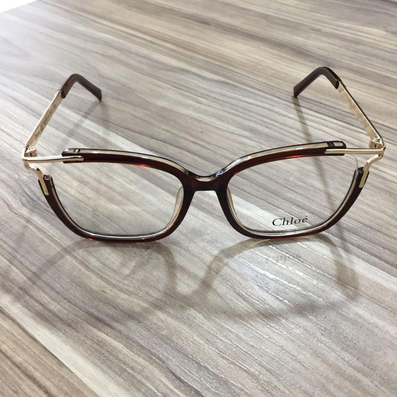 6ee47314c9c9a Óculos armação de grau feminino quadrad geek metal - R  149.99 ...