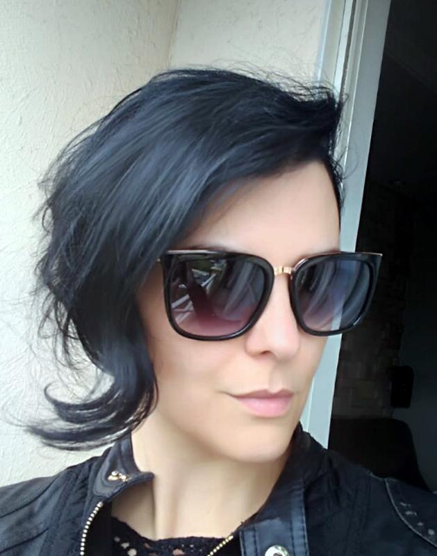 Óculos feminino de sol quadrado degrade com proteção uv400 - R ... f364a6284c