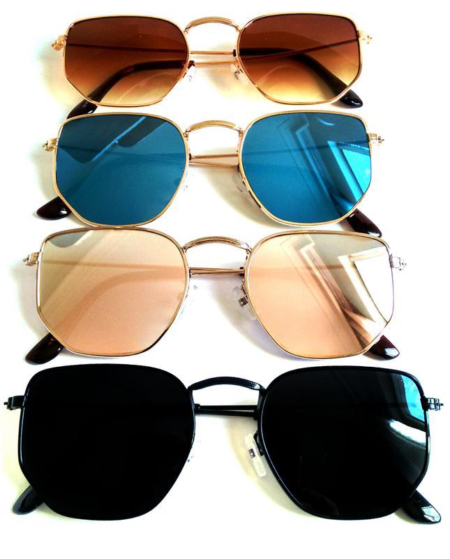 Óculos de sol feminino retro hexagonal verão 2019 promoção - R ... eea1e3fef7