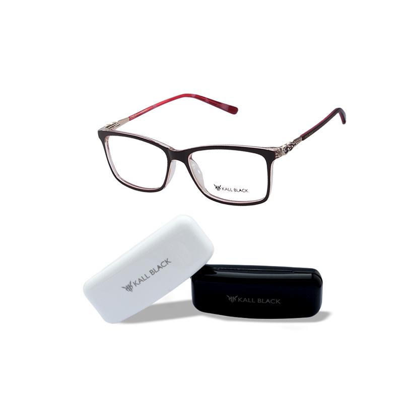 2fe96a8eafb6c Armação óculos de grau feminino kallblack af6320 - R  89.00  8920 ...