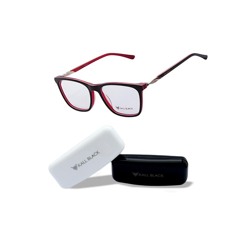 1109305ad55b3 Armação óculos de grau feminino kallblack af6232 - R  89.00,  8922 ...