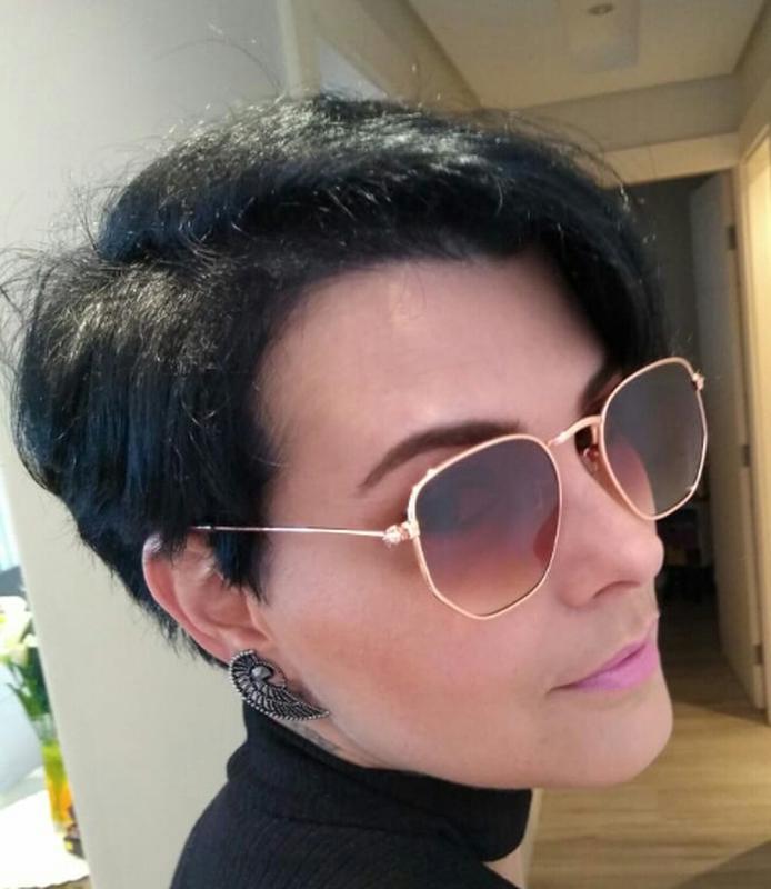 ... Óculos de sol feminino retro hexagonal verão 2019 promoção3 ... a0324939c0