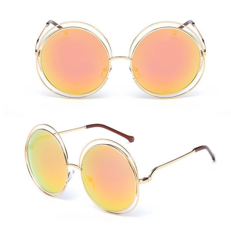 Óculos de sol feminino redondo - R  50.00,  1660, compre agora   Shafa 9abd5188ad