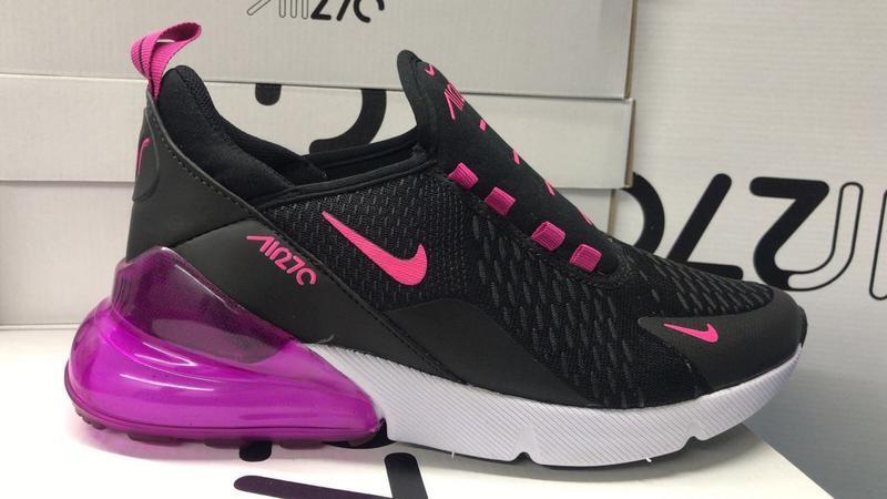 98de285c132 Tênis nike air max 270 preto c  pink - R  119.90 (de borracha ...