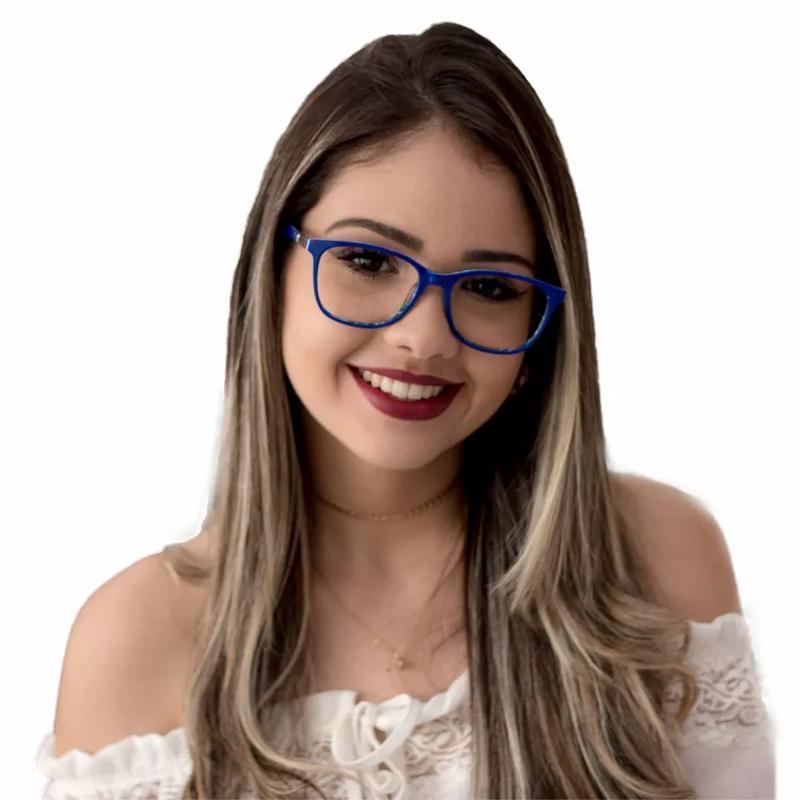 82964eab4847c Óculos de grau quadrado lançamento 2019 - R  139.99  16265