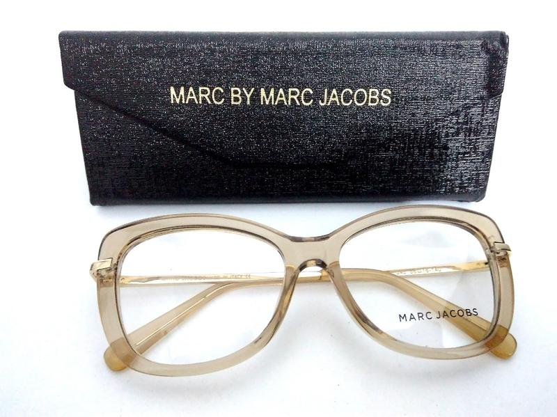 1bd089bc967cd Armação p  oculos de grau feminino marc jacobs mj545 prime - R ...