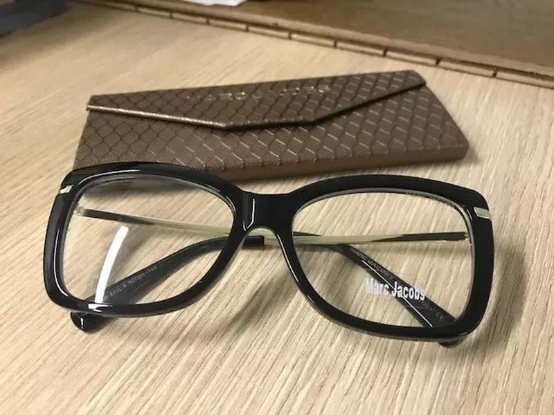 d8f079920c2c0 Armação p  oculos de grau feminino marc jacobs mj545 prime preta - R ...