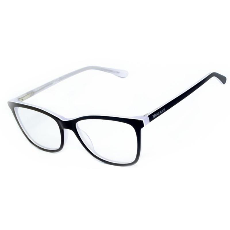 9db0f9e911960 Armação óculos de grau feminino kallblack af6287 - R  89.90  17303 ...
