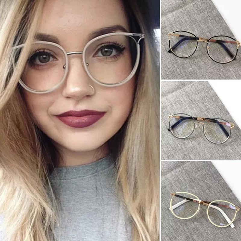 b0e48f7e6df51 Armação óculos de grau feminino gatinho blogueira