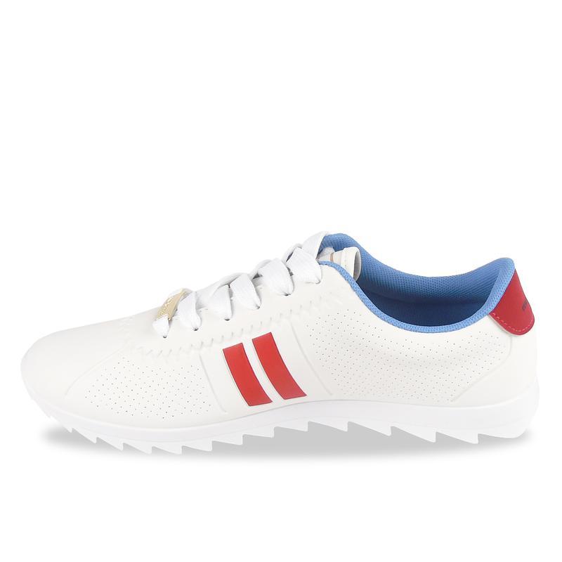 187b5d6a68 ... Tênis feminino branco vermelho moleca tratorado moving 5632-1004 ...