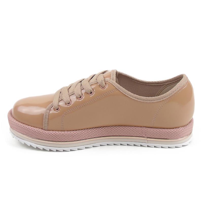 9af7c9285 ... Sapato feminino casual oxford beira rio verniz nude 4196.3033 ...