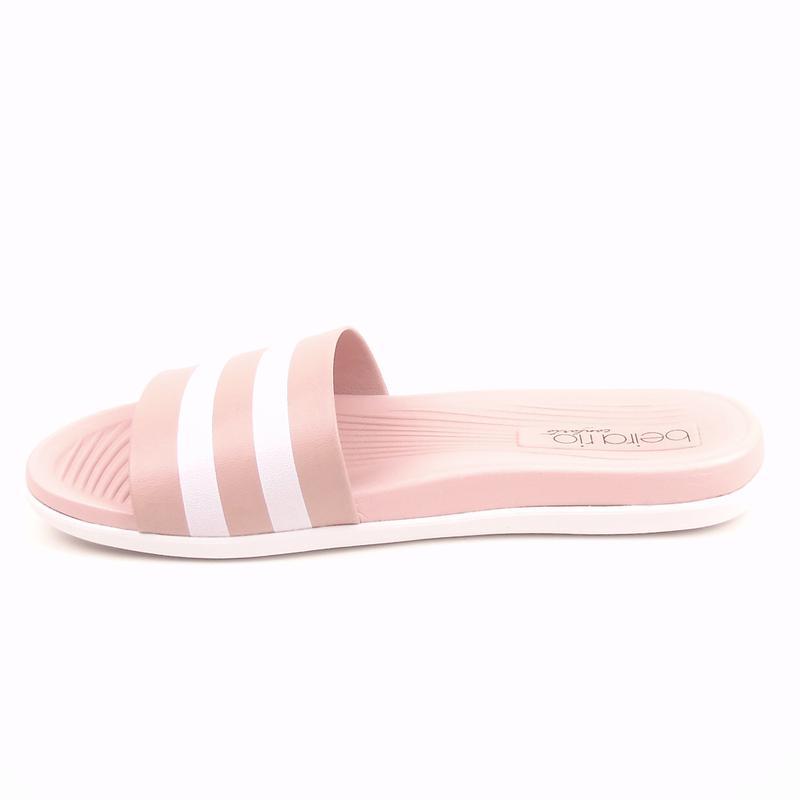 e96fc7fe38 Chinelo beira rio conforto slide 8360.102 na cor rosa - R  49.99 ...
