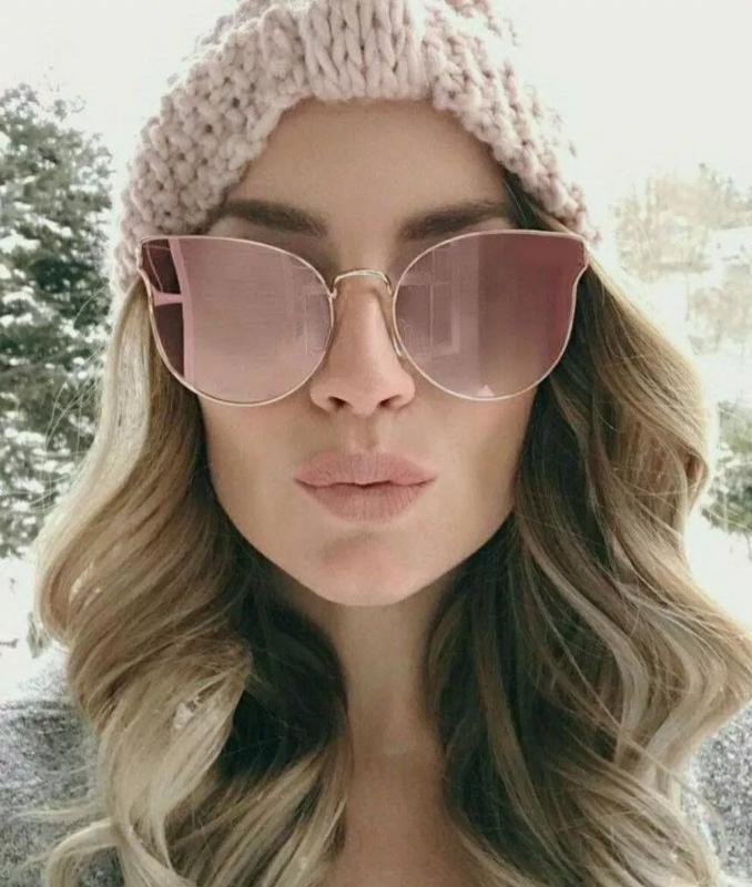 28f452006ee3e Óculos gatinho feminino espelhado rosa verão 2019 - R  119.00  20232 ...