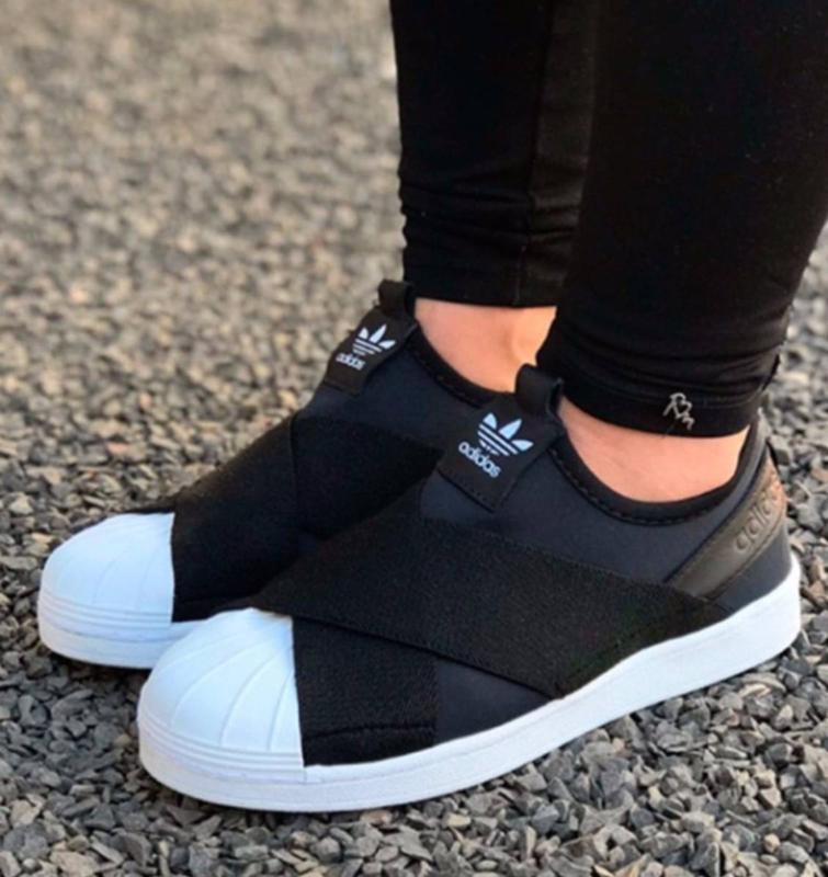 dac87b6747c Tênis adidas slip on feminino - oferta limitada - R  99.90 (Nike ...